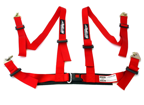 BC-NHRSSB-4R  Buddyclub 4 Point Harness