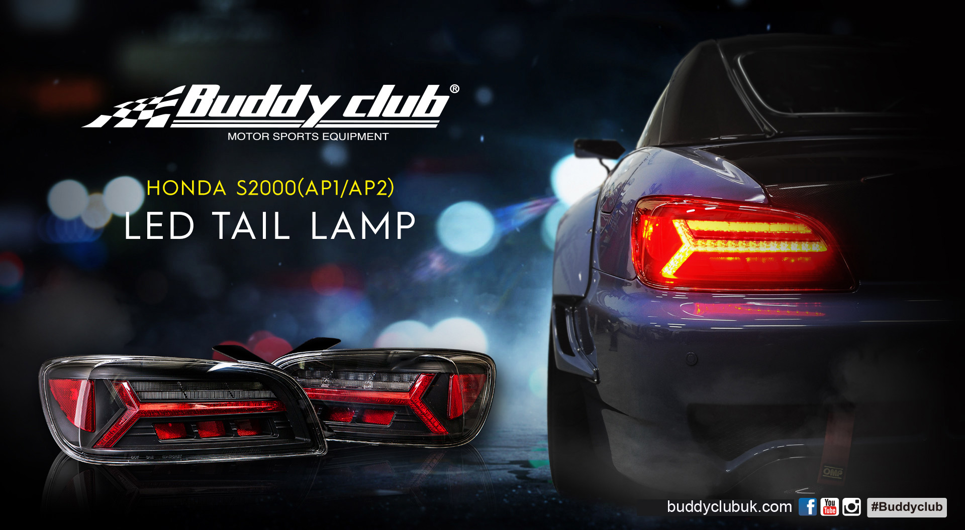 BC-TTL-AP1 / BUDDY CLUB S2000 TAIL LIGHTS LAMPS LED AP1 - PRE