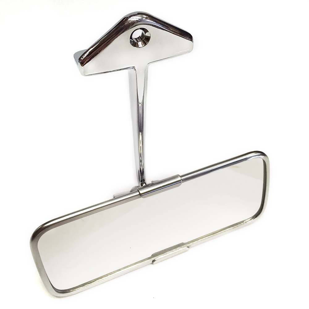 sp009 classic mini stainless steel and chrome interior rear view mirror. Black Bedroom Furniture Sets. Home Design Ideas