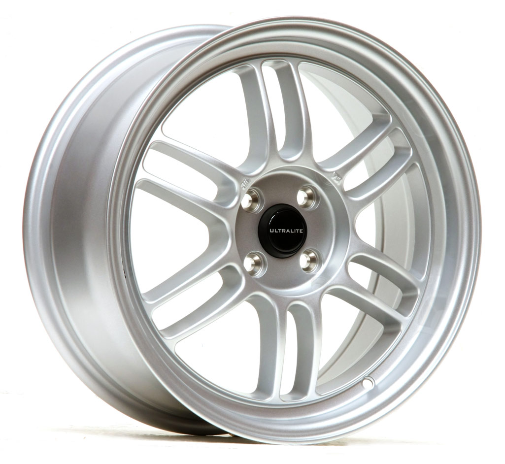 ULF1-1775-3GS / ULTRALITE F1 17x7.5 INCH - ET42 - 4x108 PCD - GLOSS SILVER